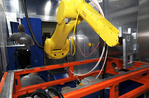 AWL robotic welding equipment