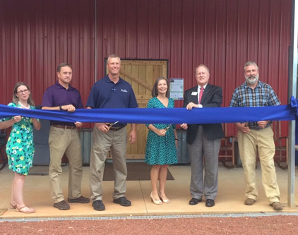Sustainable Agriculture Facility Opening