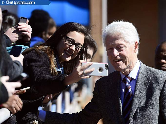 Bill Clinton Visits SCC