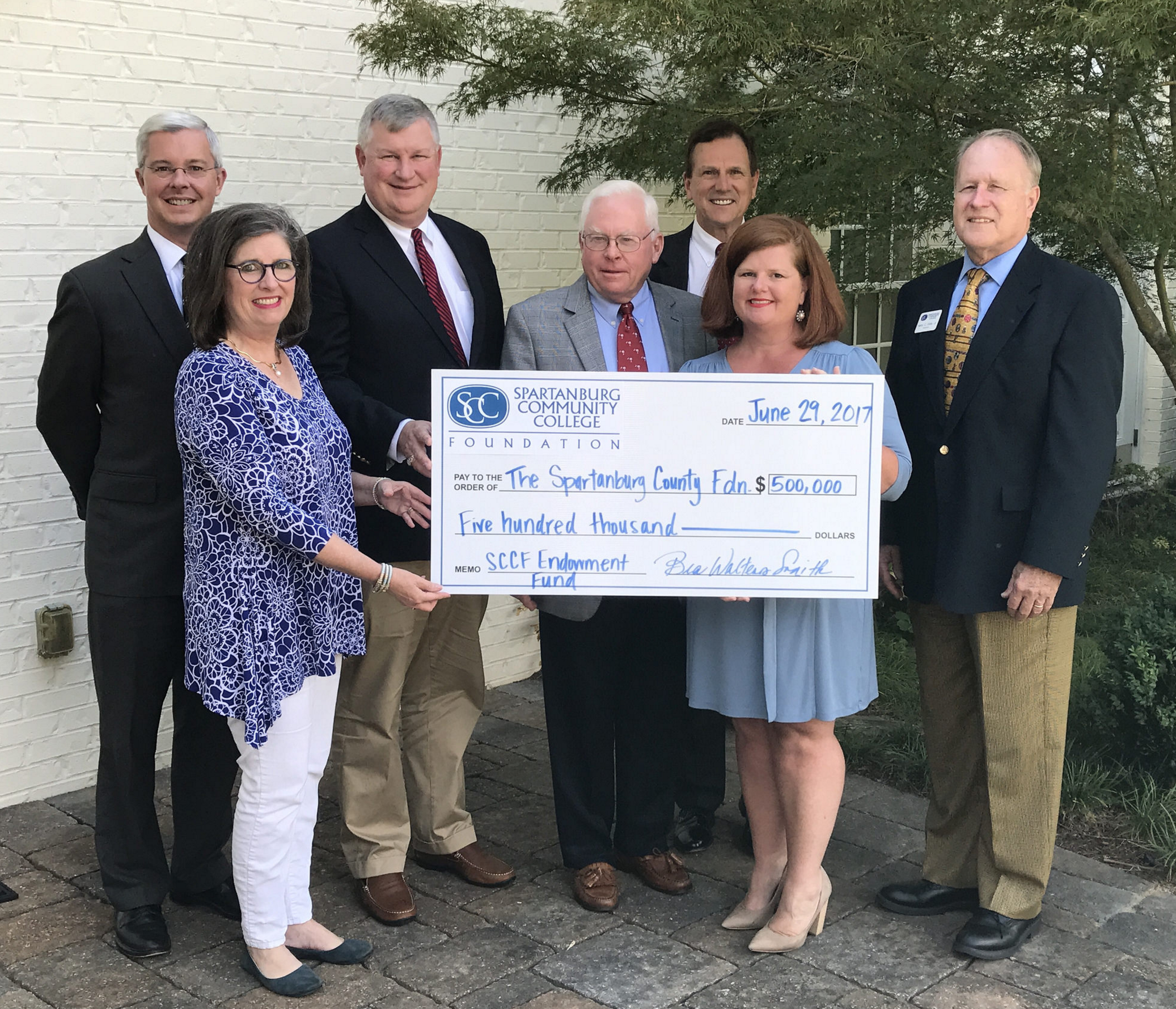 SCC Foundation and Spartanburg County Foundation