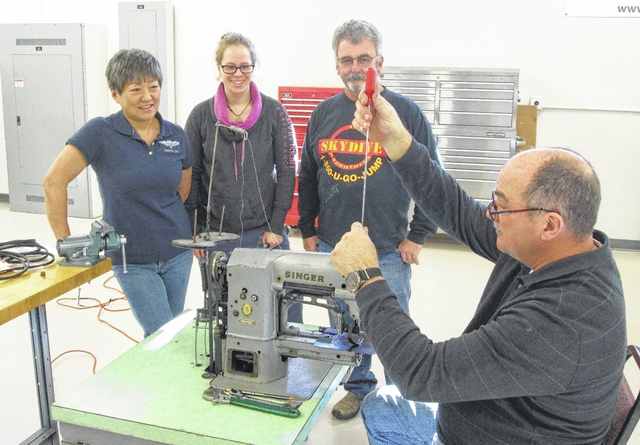 Union SCC Sewing Machine Repair Class
