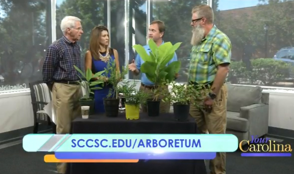 Arboretum and horticulture program featured on Your Carolina WSPA