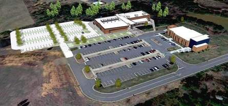 CAMIT at SCC Cherokee County Campus Rendering
