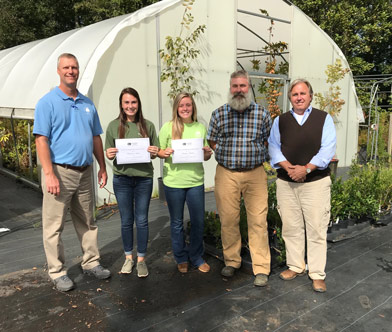 McAbee donation to SCC Horticulture