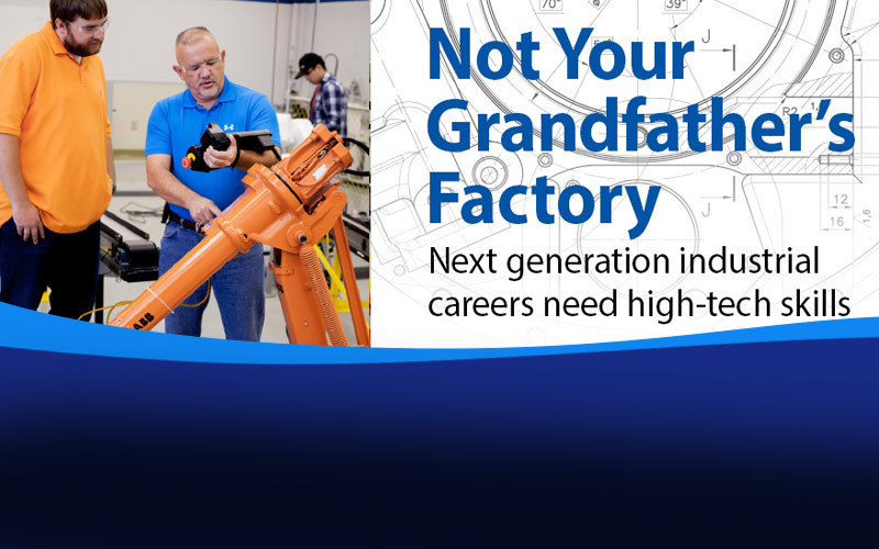Rotator - CareerFocus Not Your Grandfather's Factory