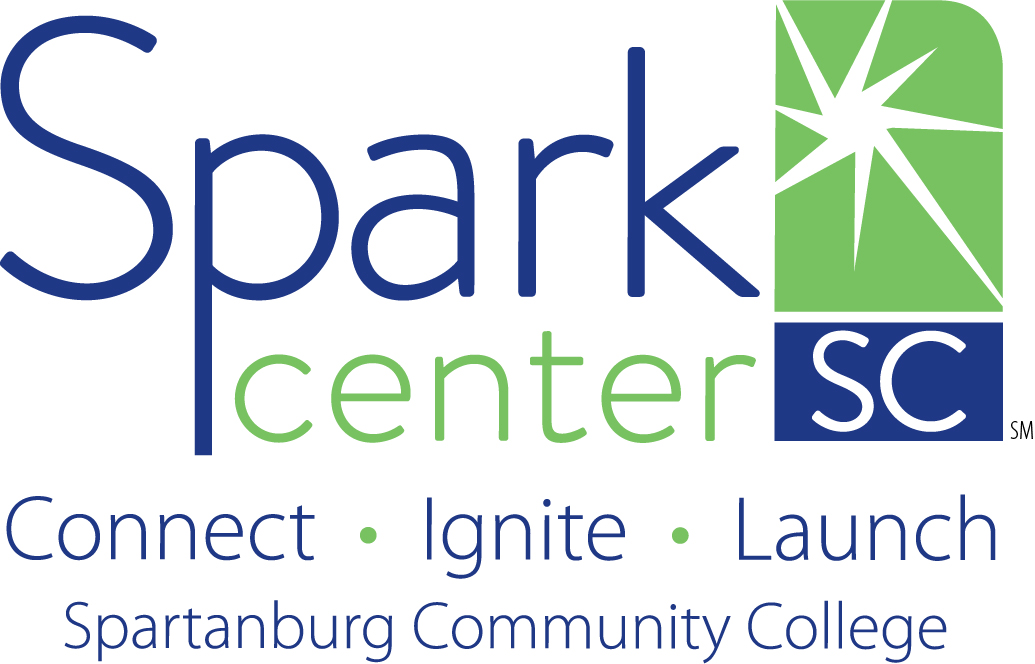 Spark logo with taglines
