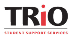 Trio logo: Success Network is a Student Support Services program funded 100% through a federal TRIO grant in the amount of $262,105 by the U.S. Department of Education.